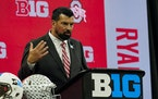 """""""They make you earn everything you get,"""" Ohio State coach Ryan Day said of the Gophers."""