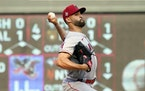 Angels lefthander Patrick Sandoval took a no-hitter into the ninth inning at Target Field on Saturday night.