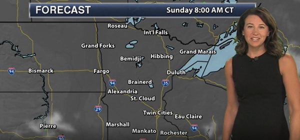 Evening forecast: Low of 67 with clear skies and more heat ahead