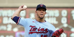 Jose Berrios gave up a couple of unearned runs Saturday night, and that was enough to tag him with a loss because the Twins offense could do nothing a