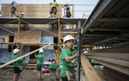 Rising lumber costs and supply shortages have hampered Twin Cities Habitat for Humanity, contributing to an increase in construction costs of 20% this