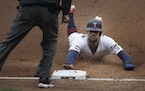 Byron Buxton, sliding into third base in April, has missed 73 games this season and has played in only 321 of the Twins' 646 games over the past fiv