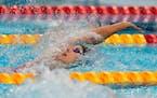 Regan Smith during her women's 100-meter backstroke semifinal.