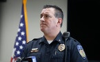 Orono Police Chief Correy Farniok, seen in 2019, on Monday said that the 51-year-old driver a vehicle involved in fatal crash is still hospitalized.