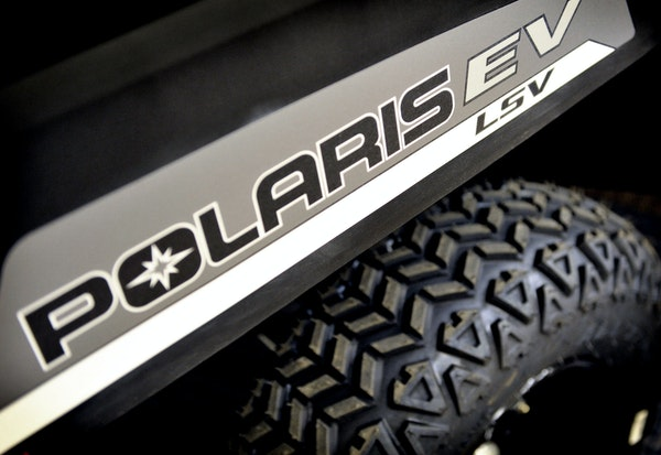 Polaris reported a 40% increase in second quarter sales.