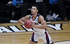 Jalen Suggs was a standout as Gonzaga made it to the NCAA title game last season.