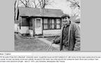 Gary Kirt, former owner of Bell Mortgage, is shown with a house he purchased for $6,500 when he was 17.