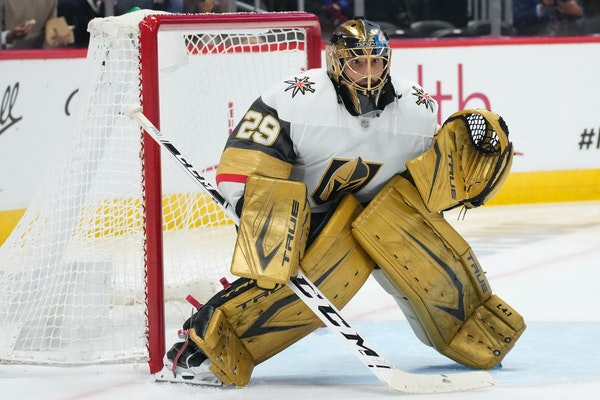 The Golden Knights traded Marc-Andre Fleury to the Blackhawks for minor league forward Mikael Hakkarainen in a salary dump. Fleury is set to count $7
