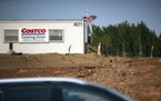 A Costco is under construction in Duluth on W Arrowhead Road near the intersection of County Road 91.