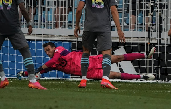 Loons goalkeeper Tyler Miller was LAFC's starter for much of his first two seasons, the inaugural 2018 and 2019 seasons.