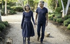 Brooke and Steve Giannetti at Patina Farm in Ojai, Calif.