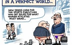 Sack cartoon: Olympics dress codes