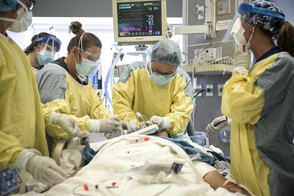COVID-19 hospitalizations are on the rise in Minnesota.