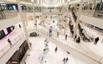 The Mall of America in Minneapolis, here in a 2016 file image. A 5-year-old boy was thrown from a Mall of America balcony in April 2019. His family re