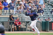 Miguel Sano hit a pair of home runs for the Twins on Wednesday.