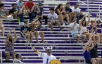 Vikings fans did the Skol Chant during the first day of training camp.