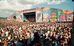 """The Woodstock '99 festival is looked back on as a """"disaster"""" and """"horror film"""" in a new HBO documentary, but was it really that bad? ORG XMI"""