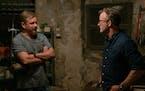 "Matt Damon and director Tom McCarthy on the set of ""Stillwater."" Focus Features"