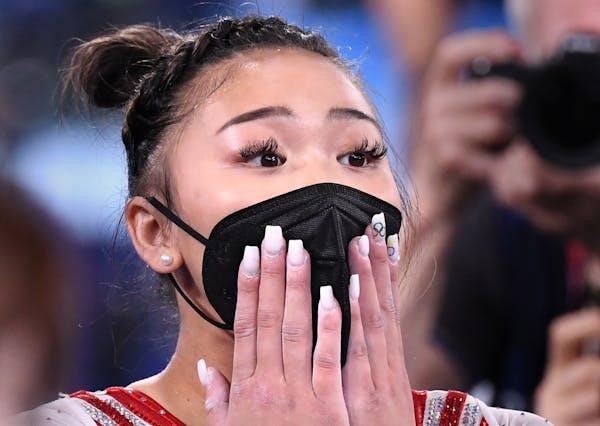 Suni Lee, gold medal winner.