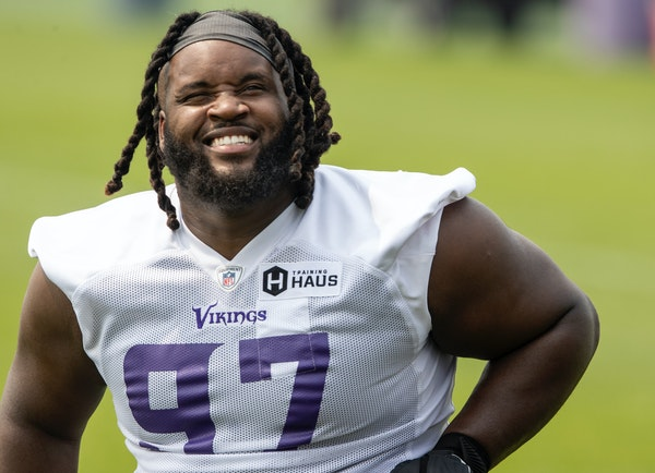 Vikings defensive tackle Michael Pierce is both eager and nervous as he returns to football after opting out of the 2020 season because of COVID-19 co