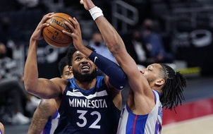 Karl-Anthony Towns continues to be the key for the Timberwolves hopes.
