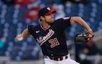 Washington Nationals starting pitcher Max Scherzer.
