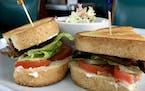 The Hi-Lo Diner's bacon, lettuce and tomato sandwich.