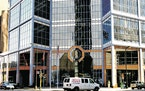 The 701 Building in downtown Minneapolis is the work of famed architect Helmut Jahn.