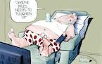 Editorial cartoon: Bill Bramhall on the Simone Biles critics