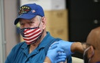 Vietnam veteran Herbert Garner received the COVID-19 vaccine at the Veterans Affairs hospital in Philadelphia. The health system is now requiring the