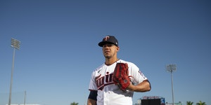 The Twins dealt two-time All-Star righthander Jose Berrios to Toronto for a pair of top prospects on Friday.