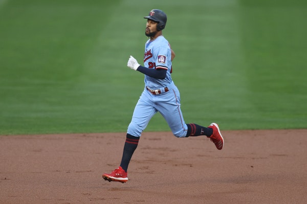 Derek Falvey said the Twins received calls inquiring about Byron Buxton, who can become a free agent after the 2022 season.