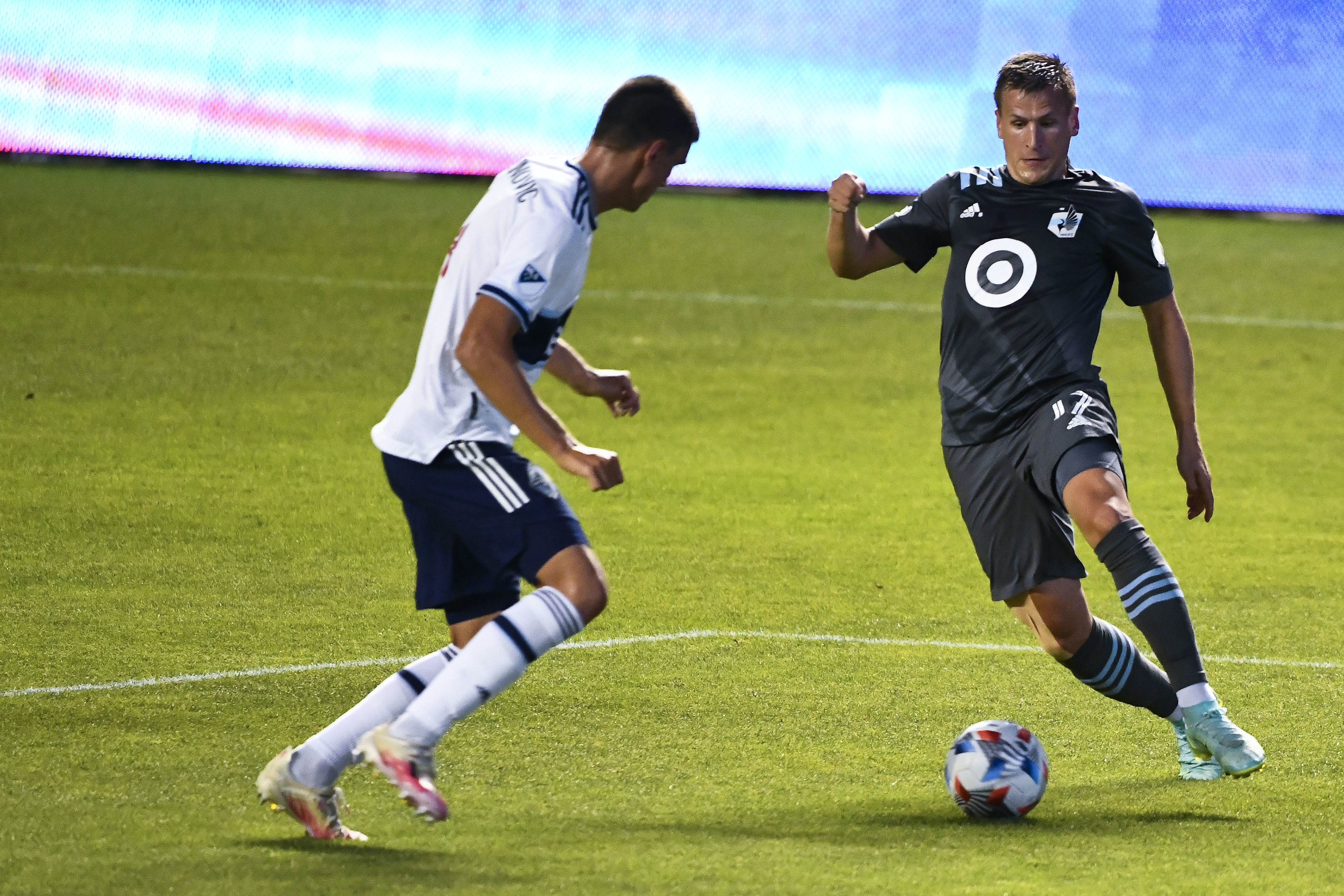 Late penalty allows Vancouver to come back for 2-2 draw with Loons