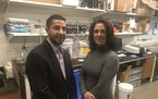 Abdennour Abbas, co-founder and chief technology officer of Claros Technologies, left, andClaros CEO Michelle Bellanca.