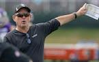 Minnesota Vikings head coach Mike Zimmer.         ] CARLOS GONZALEZ • cgonzalez@startribune.com – Eagan, MN, July 28, 2021, Minnesota Vikin