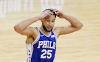 Ben Simmons of the 76ers had a rough playoffs.