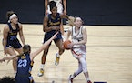 Paige Bueckers has filed for a trademark on her nickname, 'Paige Buckets.'