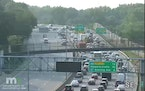 Traffic backs up as fatal crash closes westbound I-94 in Mpls.