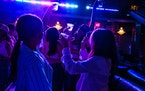Patrons danced at Billy's, a bar outside Yankee Stadium, in New York, June 18, 2021.