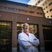 Dr. Michael Joyner poses for a photo in the courtyard of Mayo Clinic Hospital, Saint Marys Campus in Rochester. ] LEILA NAVIDI • leila.navidi@startr