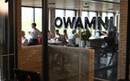 Owamni opened in July along the Mississippi River in Minneapolis.