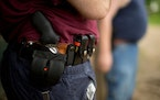 A state law requiring individuals to have a permit to carry a handgun in public is constitutional, the Minnesota Supreme Court ruled.