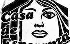 From 1982, a detail from Casa de Esperanza's logo when it opened in St. Paul.