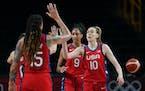 Breanna Stewart and Team USA take on Serbia next in Tokyo.