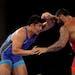 Gable Steveson will wrestle for the 125 kg gold medal on Friday.