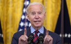 In this Aug. 3, 2021, photo, President Joe Biden speaks in the East Room of the White House in Washington.