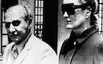 In this June 17, 1971 file photo, heiress Doris Duke and her attorney Aram Arabian left Superior Court in Providence, R.I.