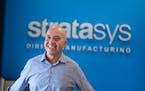 Stratasys CEO Yoav Zeif. ] GLEN STUBBE • glen.stubbe@startribune.com Tuesday, July 20, 2021 A tour of Stratasys, the Eden Prairie on-demand 3D print