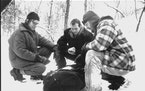 """Billy Bob Thornton, Bill Paxton and Brent Briscoe in the Minnesota-shot """"A Simple Plan."""" Paramount Pictures"""