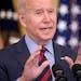 President Joe Biden in the East Room of the White House on Aug. 3.